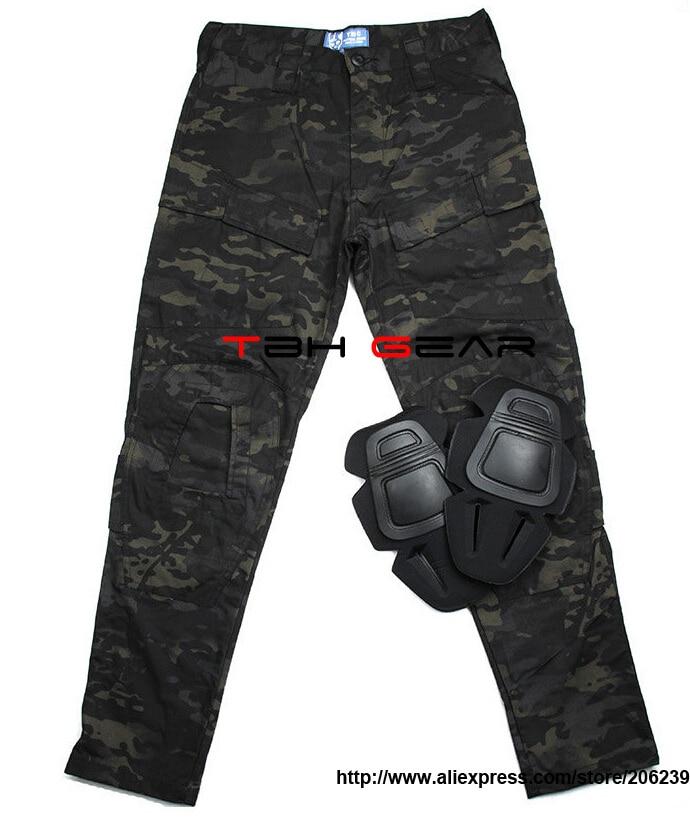 TMC E-ONE Tactical Combat Pants Multicam Black Cargo Pants+Free shipping(SKU12050206) tmc g3 combat pants w knee pads night camo multicam black law enforcement tactical pants free shipping sku12050486