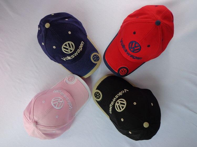 2019 NEW Volkswagen   Baseball     Cap   Auto Logo embroidery Adjustable snapback hood Hat Mens women