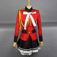Anime Amagi brillante parque Isuzu Sento falda uniforme conjunto completo traje de Cosplay
