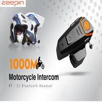 2pcs BT S2 1000m Bluetooth Helmet Headsets Motorcycle Intercoms FM Radio Bluetooth Interphones Auto Answer Stereo Music Play