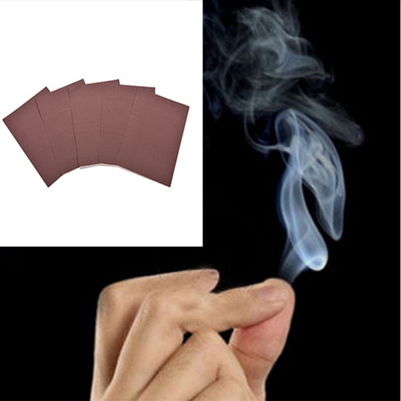 Magic Trick Toys Magic Smoke From Finger Tips Surprise Prank Joke Mystical Fun Toy Mystic Magic Tool Gift
