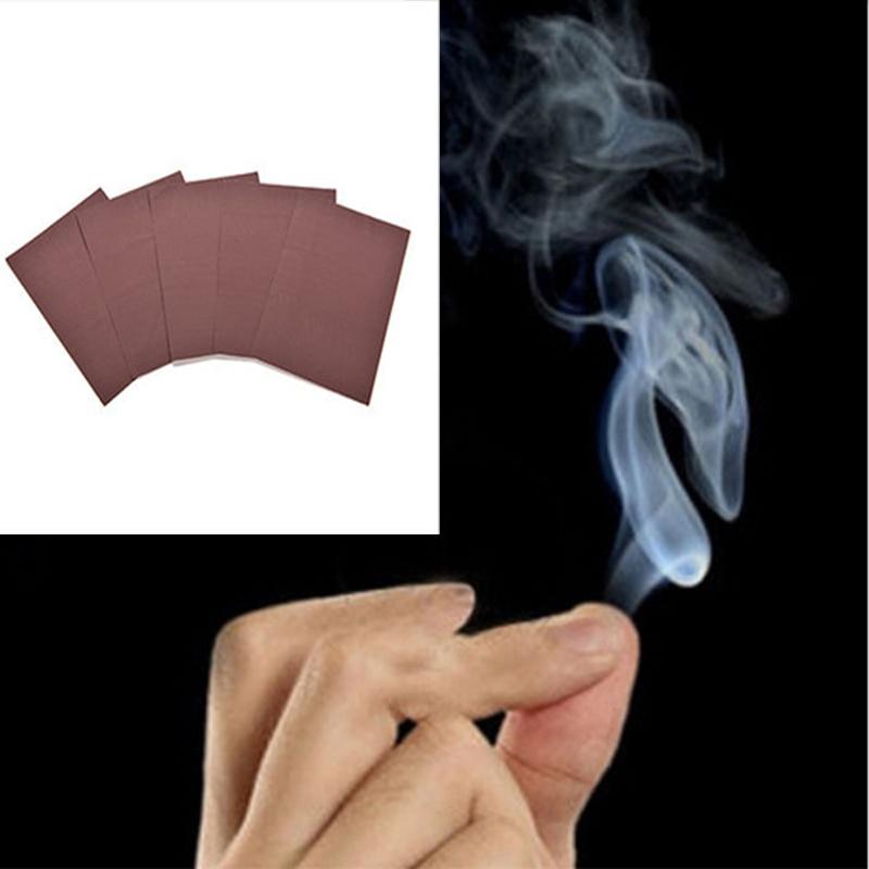 Magic Trick Toys Magic Smoke From Finger Tips Surprise Prank Joke Mystical Fun Toy Mystic Magic Tool Gift