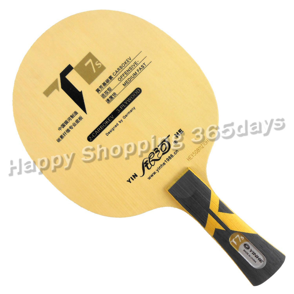 ФОТО Original Galaxy YINHE T7s CARBOKVE T-7 Upgrade Table Tennis Blade for PingPong Racket