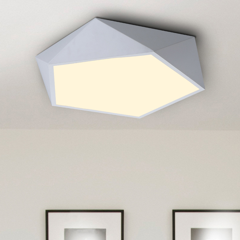 Obedient 18w/24w/42w Geometric Simplicity Modern Led Ceiling Lamp Design Creative Dimmable Indoor Foyer Ceiling Lights Zxd0008 To Assure Years Of Trouble-Free Service Ceiling Lights & Fans Lights & Lighting