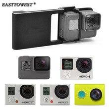 Easttowest для Осмо совместимый коммутатор Монтажная пластина Адаптер для GoPro 5 4 3 3 + xiaoyi