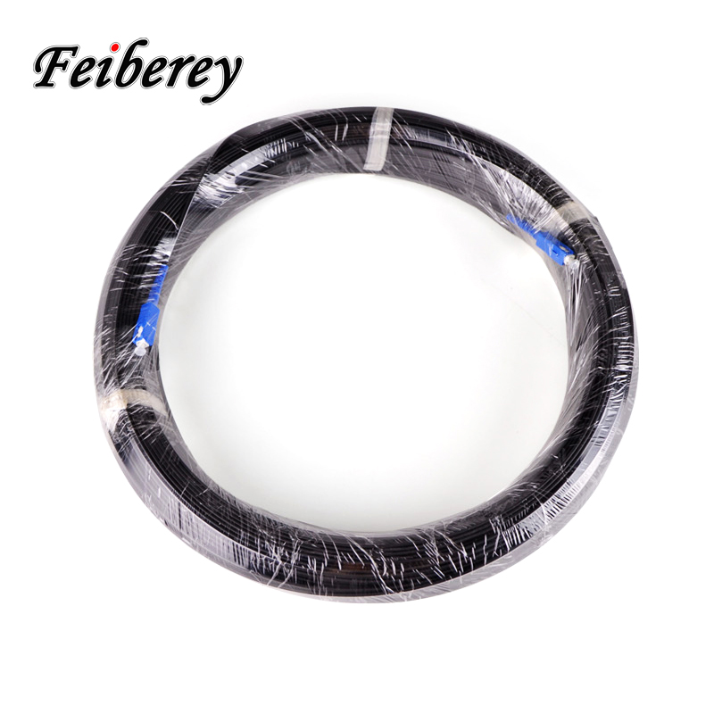Image 5 - 300 Meter Long Range Fiber Optic Drop Cable Patch Jumper with SC UPC Connector Outdoor FTTH Singlemode Simplex Triple Steel Wire-in Fiber Optic Equipments from Cellphones & Telecommunications