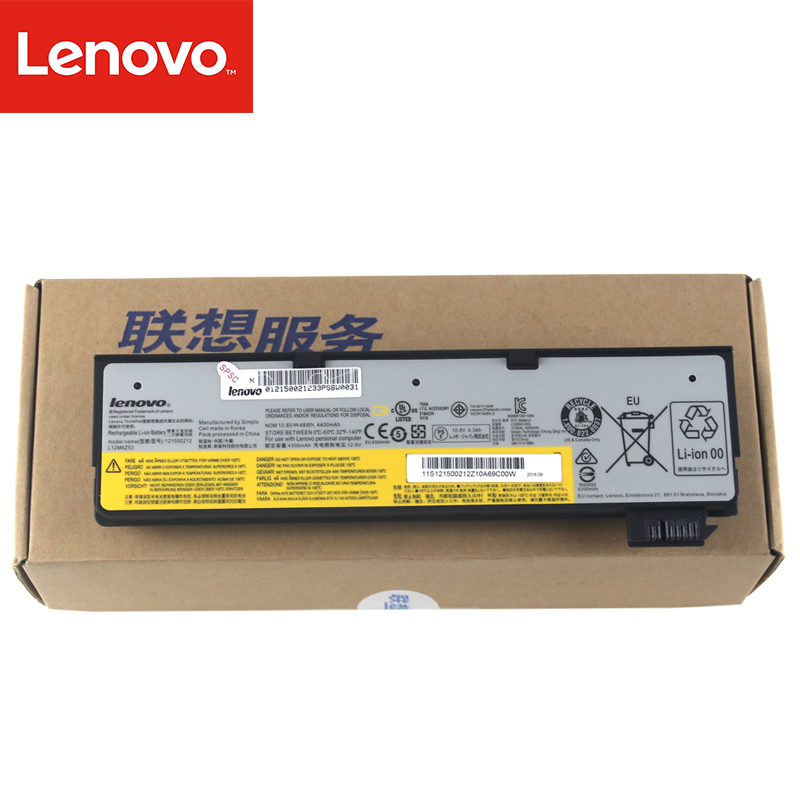 Original Laptop battery For Lenovo Thinkpad X270 X260 X240 X240S X250 T450 T470P T450S T440 T440S K2450 W550S 45N1136 45N1738 6 cell original laptop battery for t440s t440 x240 touch 45n1128 45n1129 10 8v 48wh