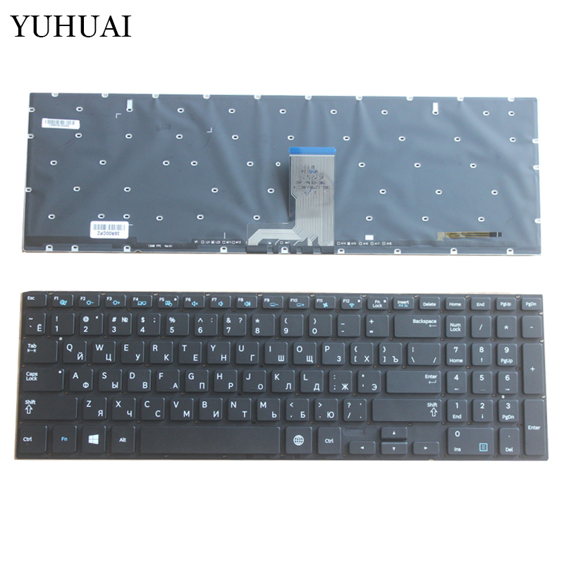 Russian Laptop keyboard for Samsung 880Z5E 870Z5E 770Z5E 780Z5E 670Z5 670Z5E RU backlit keyboard layout new laptop keyboard for samsung sf310 sf311 ru russian layout