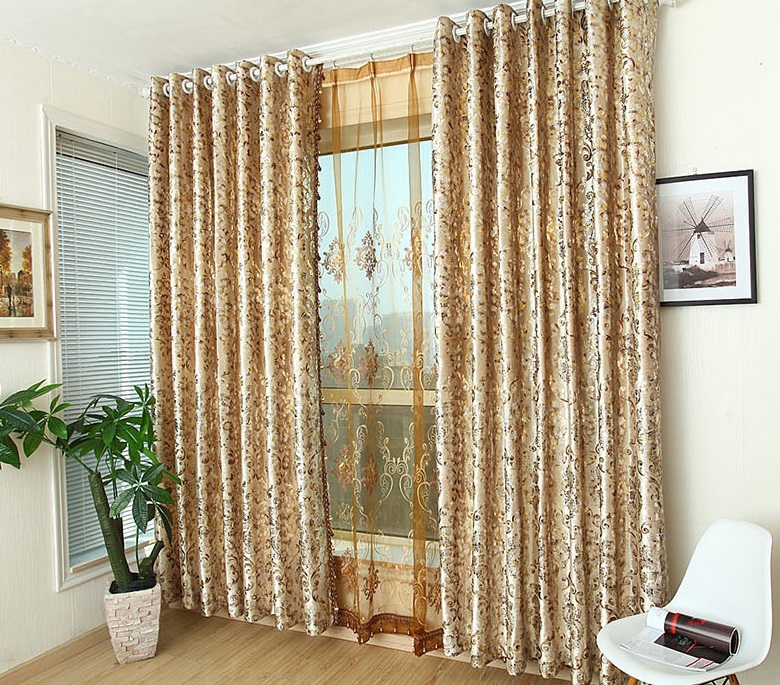 Wonderful Online Shop More High Grade Gold Velvet Window Shade Ou Embroidery Curtain  Of Sitting Room Bedroom Study Custom Curtains | Aliexpress Mobile