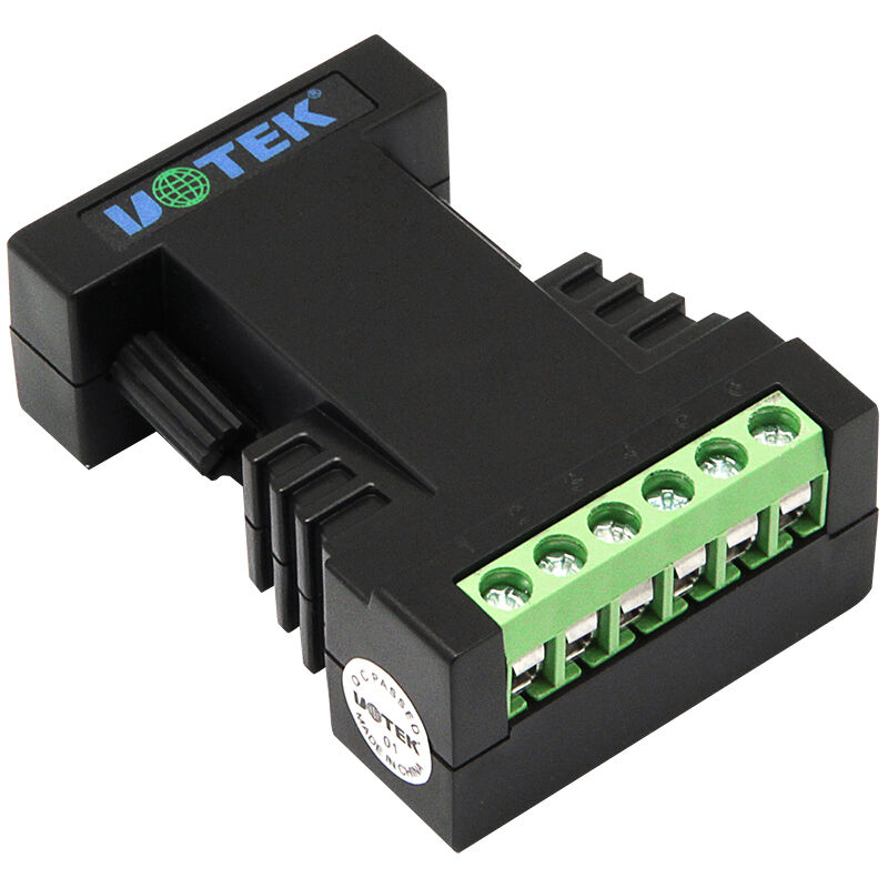UT-2127 Port-powered RS-232 to RS-485/422 Mini-size PhotoElectric Isolation industrial grade photoelectric isolation rs232 to rs485 422 two way active converter lightning protection against surge