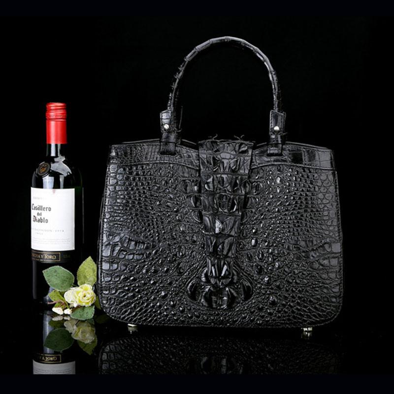 Taschen Damen Staaten Große Abendessen Handtaschen Vereinigten Luxus pink Handgelenk blue purple Europa end Leder Krokodilleder 2017 High Und Die Neue Black qawpgx