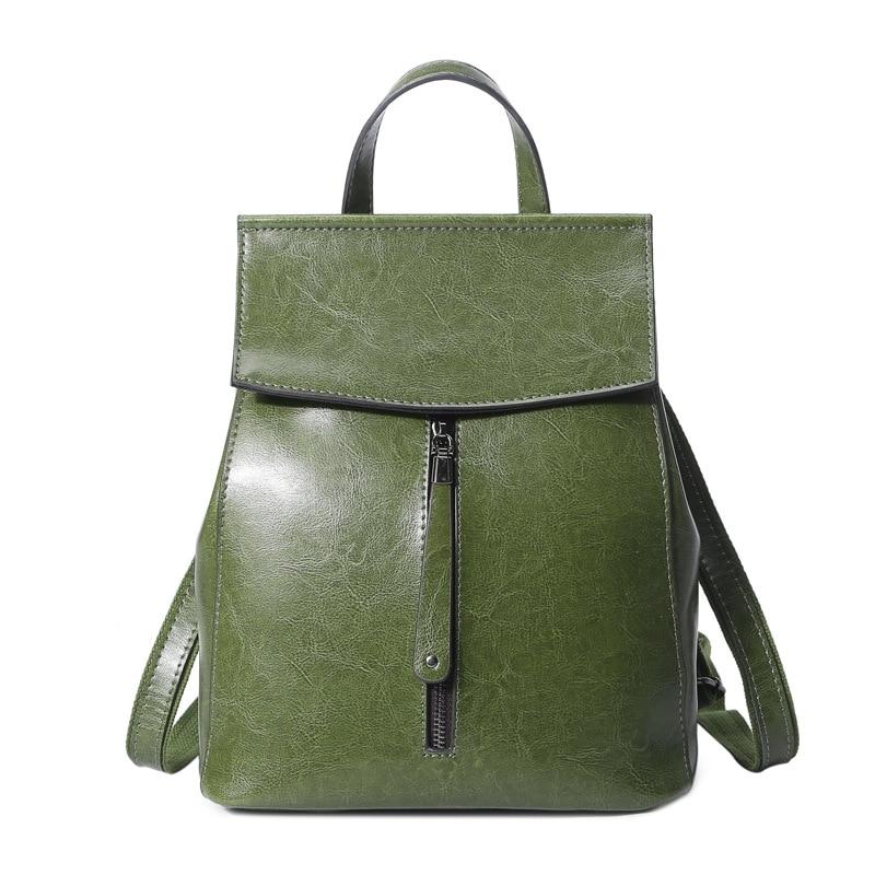 Brand Women Backpack Genuine Leather School Backpacks For Teenage Girls backpacks for teenage girls Mochila Feminina female C337 цена 2017