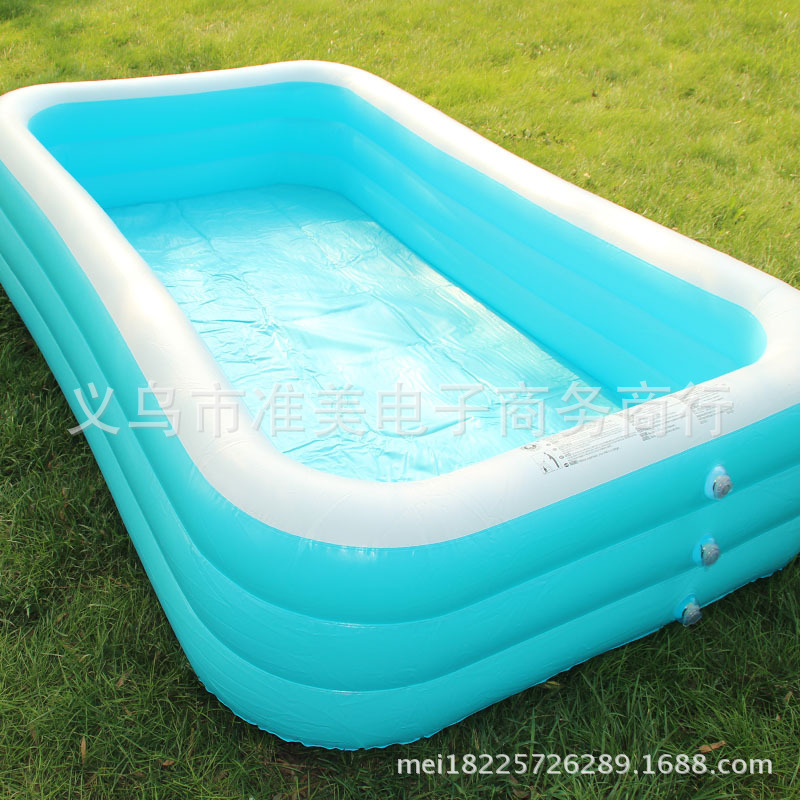 Pool Insulation Details : Perfect new family inflatable bathtub thickening