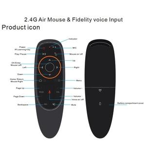 Image 2 - Воздушная мышь kebidu G10 G10S, голосовое управление, 2,4G, USB приемник G10s, с гироскопом, датчик, мини, беспроводной, умный пульт дистанционного управления для Android TV BOX