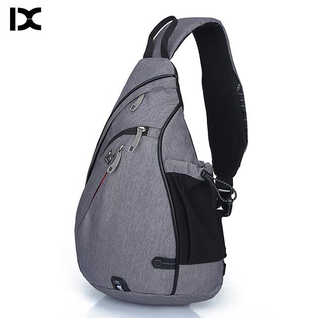 Brand Large Capacity Chest Pack Nylon Zipper Women's Messenger Bags Men's School Bag Modern Shoulder Bag Unisex Crossbody Bag