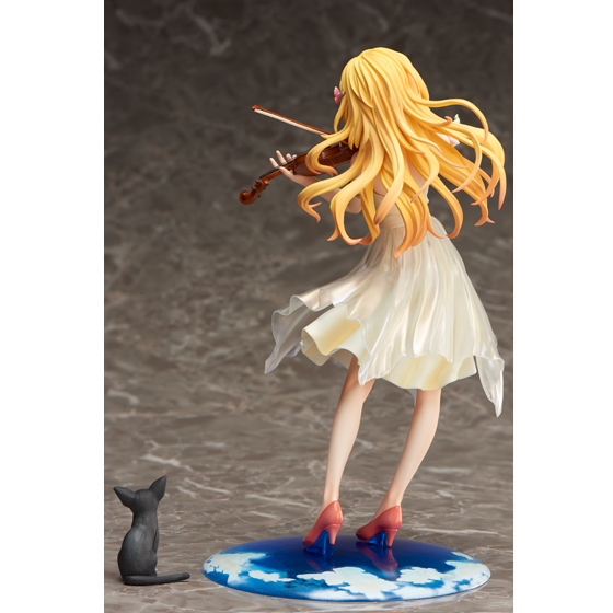 Loyal New Anime 20 Cm Your Lie In April Miyazono Kaoru Costume For 1/8 Scale Painted Violin Pvc Action Figure Colletible Model Toy Action & Toy Figures