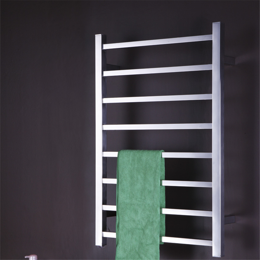 1pc Heated Towel Rail Holder Bathroom Accessories Towel: Wall Mounted Towel Warmer Electric Heated Towel Rail