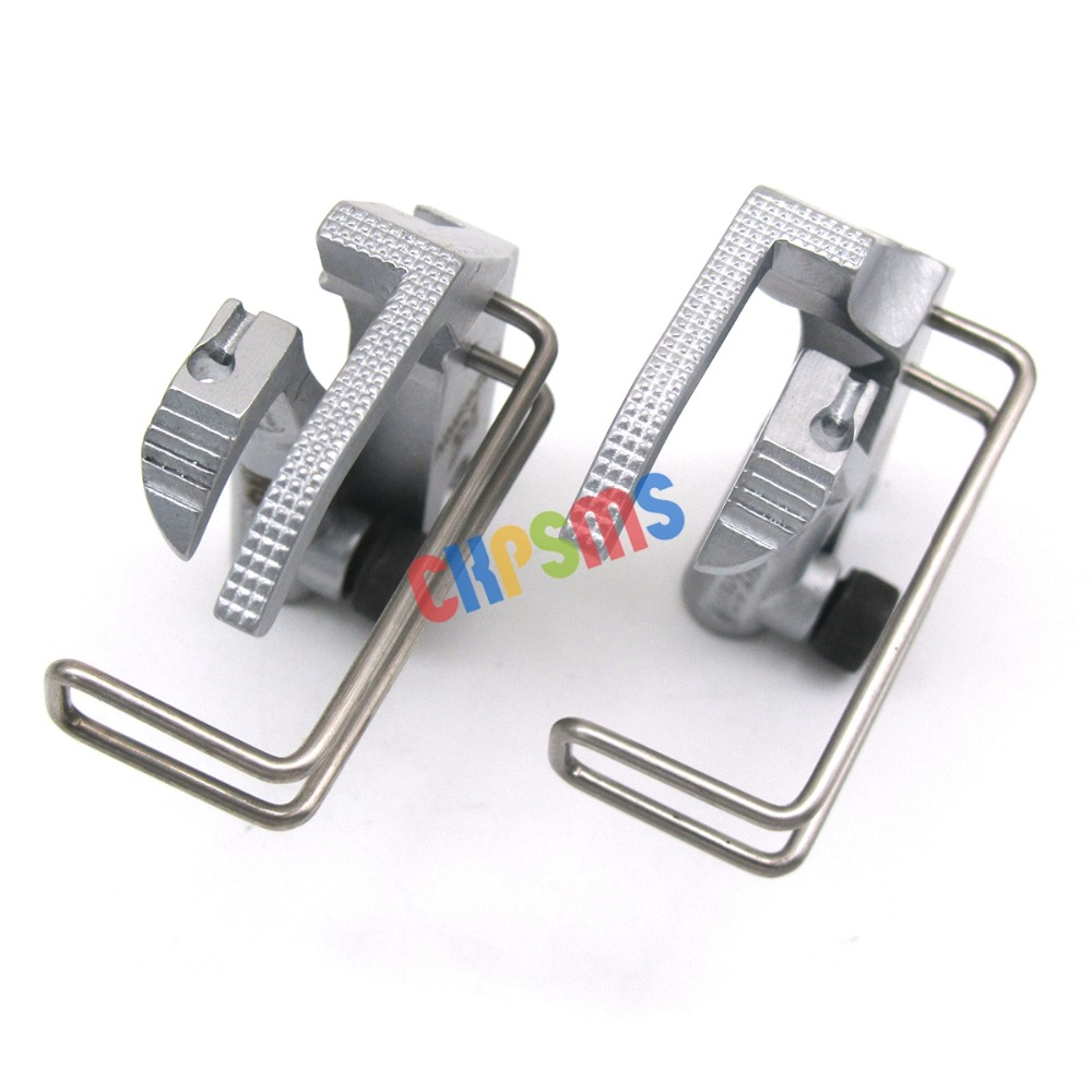 269 167 69 CKPSMS Brand -1SET #KP269LN Zipper Knurled Presser Foot FIT for Durkopp Adler 67 267