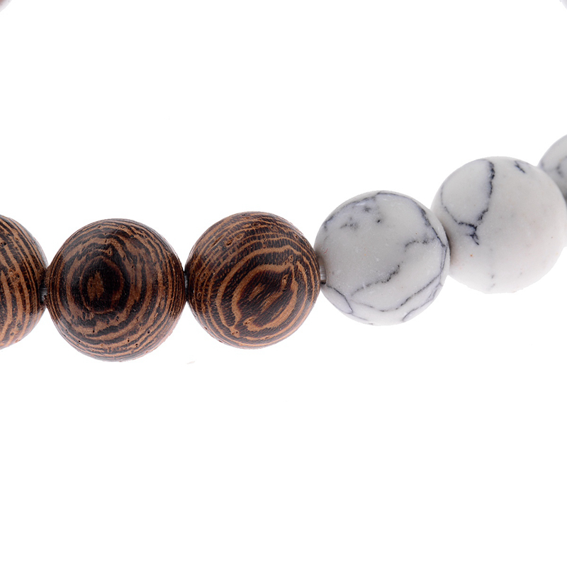 8mm New Natural Wood Beads Bracelets Men Black Ethinc Meditation White Bracelet Women Prayer Jewelry Yoga Bracelet Homme HTB1 XH5bwnH8KJjSspcq6z3QFXaf