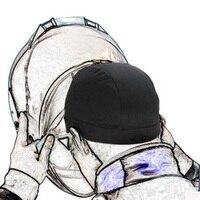 Motorcycle Helmet Inner Cap Coolmax Hat Quick Dry Breathable Hat Racing Cap Under Helmet Beanie Cap for Helmet|Motorcycle Face Mask| |  -