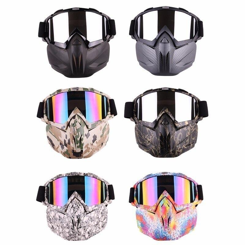 Для мужчин Для женщин горнолыжные очки для сноуборда мотоцикл мотокроссе очки Открытый Спортивные очки солнцезащитные очки маска Прямая д...