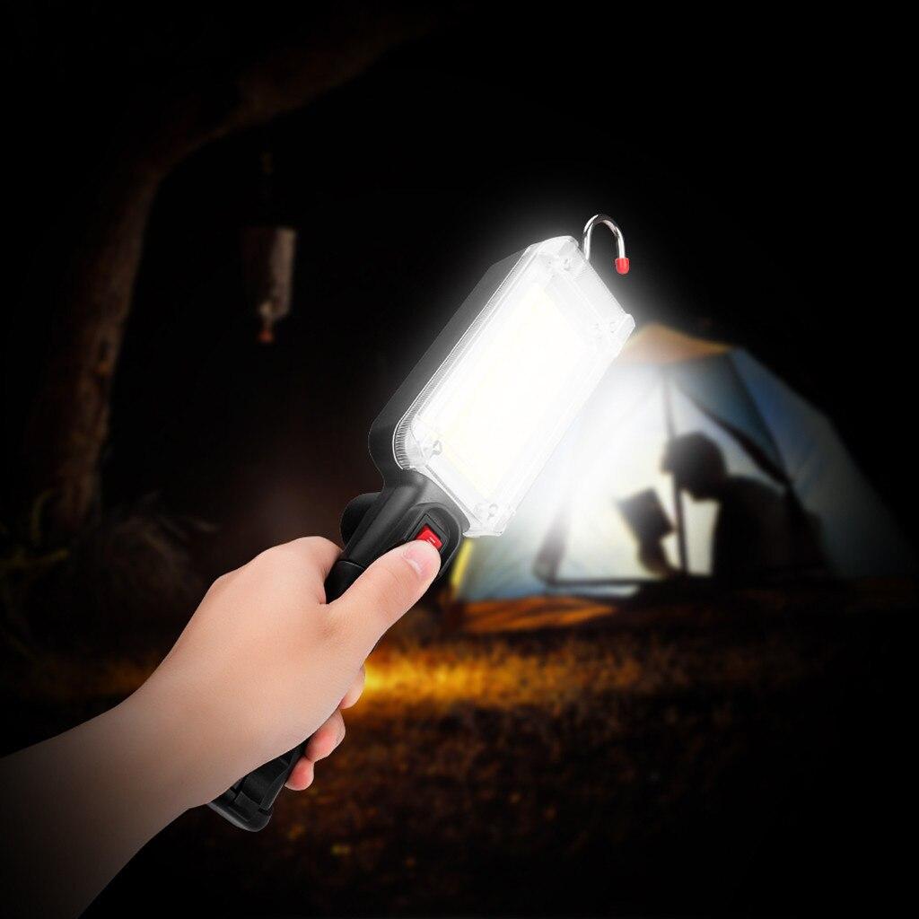 ISHOWTIENDA 2019 COB LED Inspection Light Torch Magnetic Handheld Work Home Garage Car Emergency Hot sale