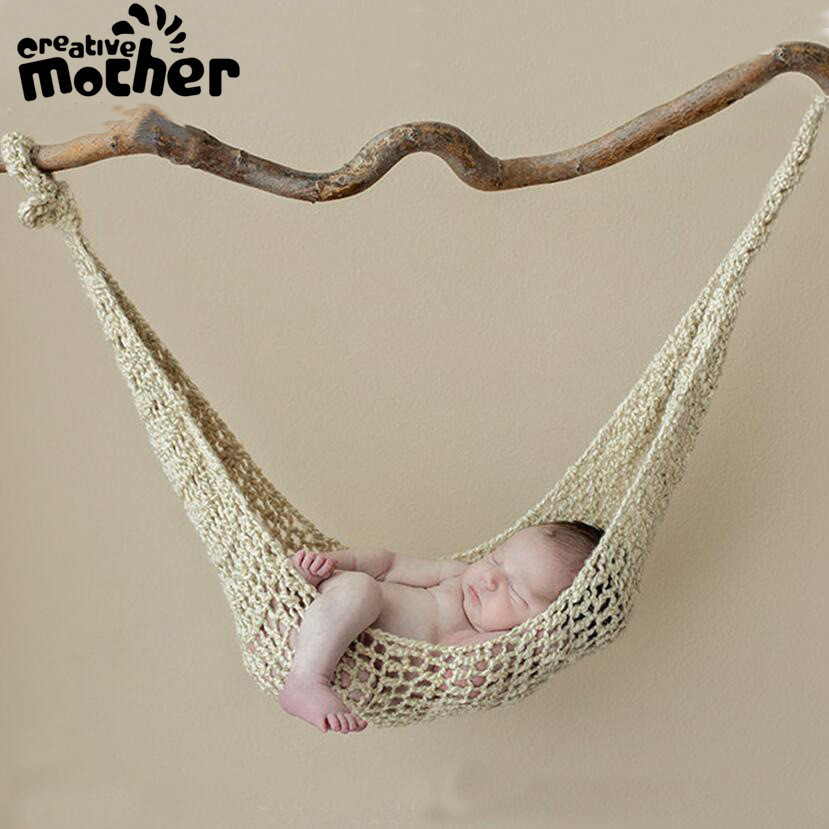 2019 Kawaii Knitted Hammock For 0-3moths Baby Baby Hammock Home Outdoor Detachable Portable Comfortable Bed Kit Infant Hammock