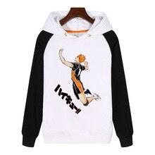 Anime Karasuno High School Volleybal Club Haikyuu! Japanse Anime Hoodies Fashion Mannen Vrouwen Sweatshirt Hoodie AN371