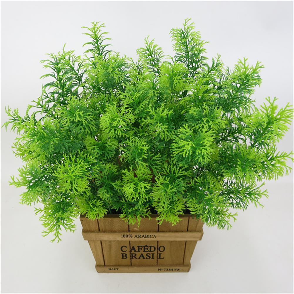 New Artificial Plant Simulation Green Grass For Home Christmas Wedding Decoration Plant Wall Garden Decor