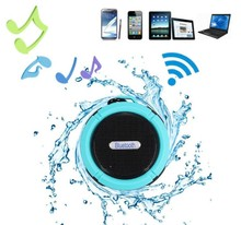 2016 Bluetooth Speaker Mini Bluetooth 3.0 Sound Box 3D Surround IP65 Waterproof Subwoofer Stereo Support TF Card with Holder