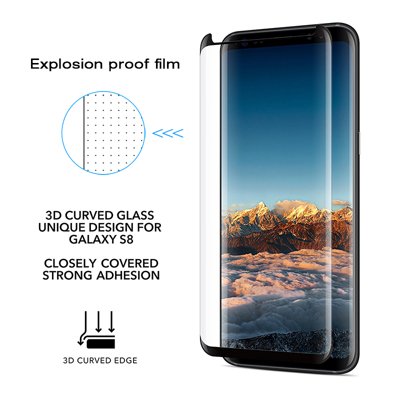 Image 4 - Suntaiho For Samsung S9 Screen Protector S10 A50 A30 Glass For Samsung Galaxy S8 S9 Plus Note9 S7 edge note 8 9H Protective Film-in Phone Screen Protectors from Cellphones & Telecommunications