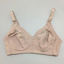 Everyday Wear Comfortable Underwear plus size 38-48 Bras for women sexy lace cotton push up bralette lingerie wire free bra Z1