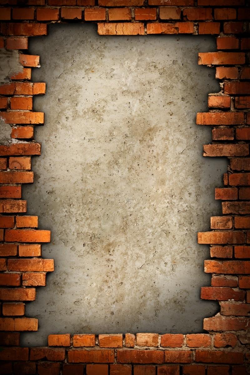 Grunge brick wall photo background vinyl photography ...