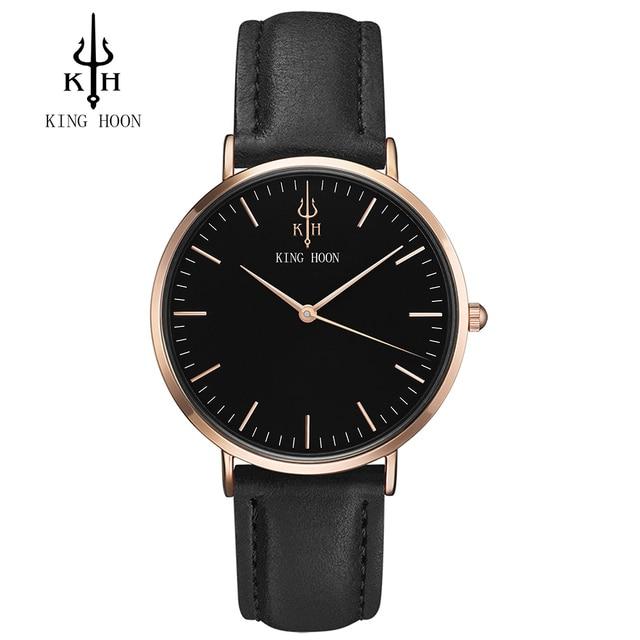KING HOON men Watch Women Watches Ladies 2017 Brand Luxury Famous Female Clock Q