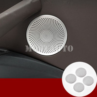 For BMW X3 G01 X4 G02 Inner Car Door Car Door Speaker Frame Trim Cover 2018 2019 4pcs