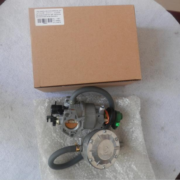 5KW LPG CONVERSION KIT FOR HONDA GX390 AX390 GX420 IC390 389CC E* 6500 DUAL PROPANE PETROL CARBURETOR 7500 6.5KW GENERATOR
