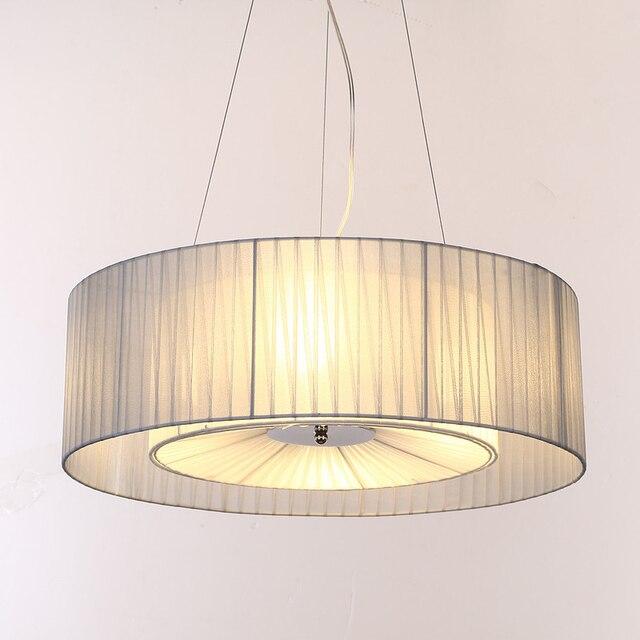 Schön Europäischen Nordic Anhänger Droplight LED Optional Esszimmer Wohnzimmer  Bettzimmer Schlafzimmer Hängeleuchte Lampe Stoff Pendelleuchte Lampe