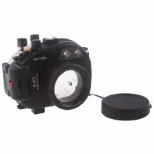 Meikon 40M 130FT Waterproof Underwater Camera Housing Case Bag for Olympus E-P5 (17mm)