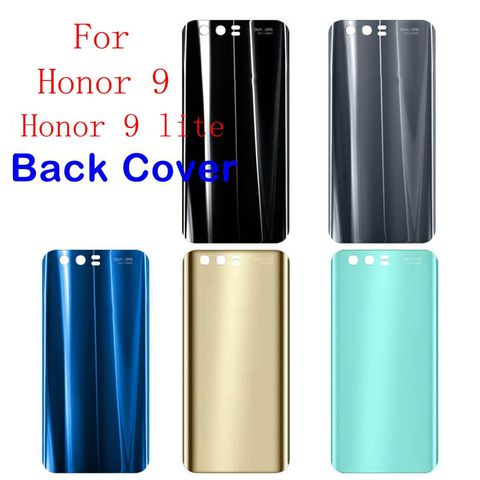 For Huawei Honor 9 Back Glass Battery Cover Rear Door Housing Case Panel For Honor9 Lite Huawei Honor 9 Back Glass Cover Replace Pakistan