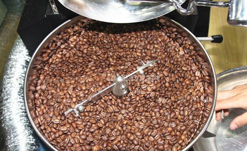 1KG Capacity Electric Coffee Roasting Machine Commercial Professional Coffee Bean Roaster Roasting Machine 220V/110V WB-A01 8