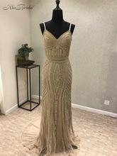 Elegante rote aufgespaltete Seite-formale Abend-Kleider 2017 Oansatz Vestido de festa Abendkleider Kristall Robe de soiree Abschlussball-Partei-Kleider