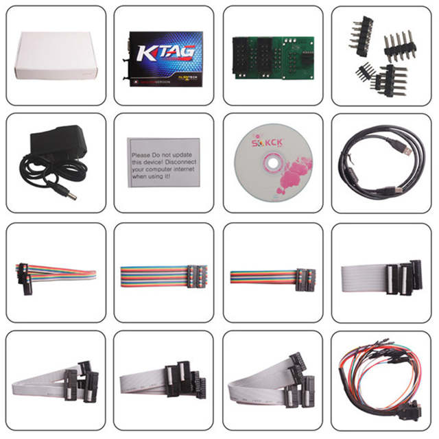 US $150 66 19% OFF|V2 13 KTAG K TAG Firmware V6 070 ECU Programming Tool  Master Version with Unlimited Token for Car Cuto Truck-in Engine Care from