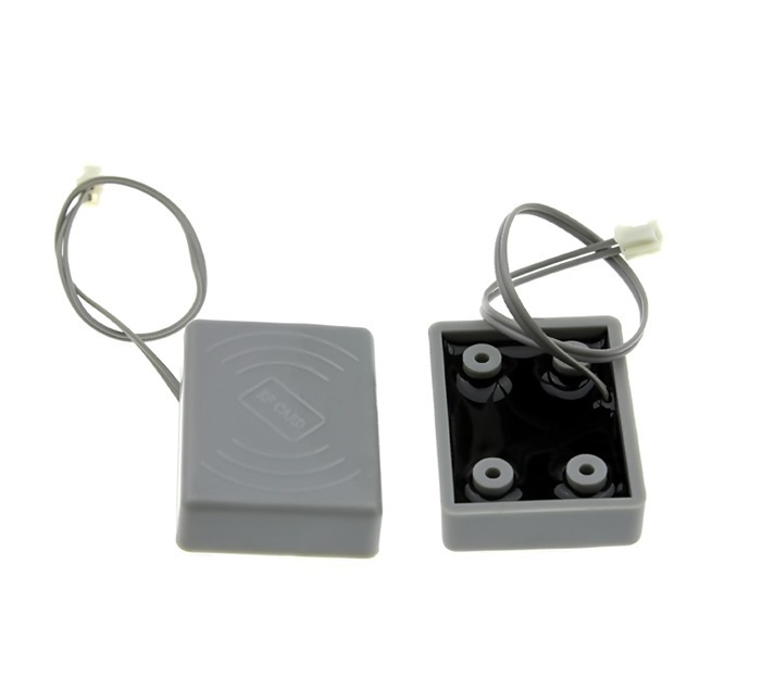 125khz RFID antenna coil with mounting holes RF induction coil 480uh 125k waterproof glue square rf access control reader rfid antenna coil induction coil slim compact