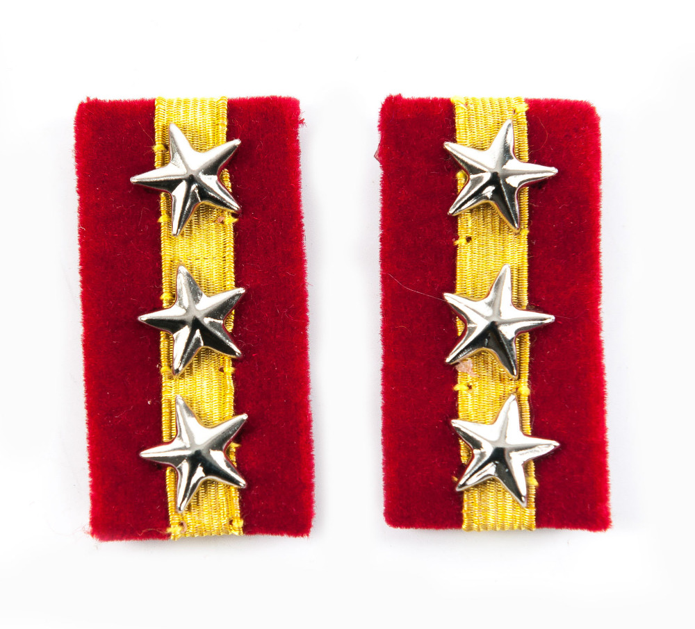 WWII IMPERIAL JAPANESE ARMY SQUADRON LEADER COLLAR TABS -35393