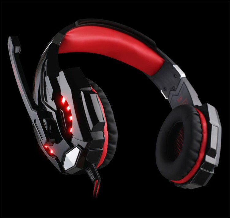 G9000 USB 7.1 Surround Sound Version Game Gaming Headphone Computer Headset Earphone Headband with Microphone LED Light (16)