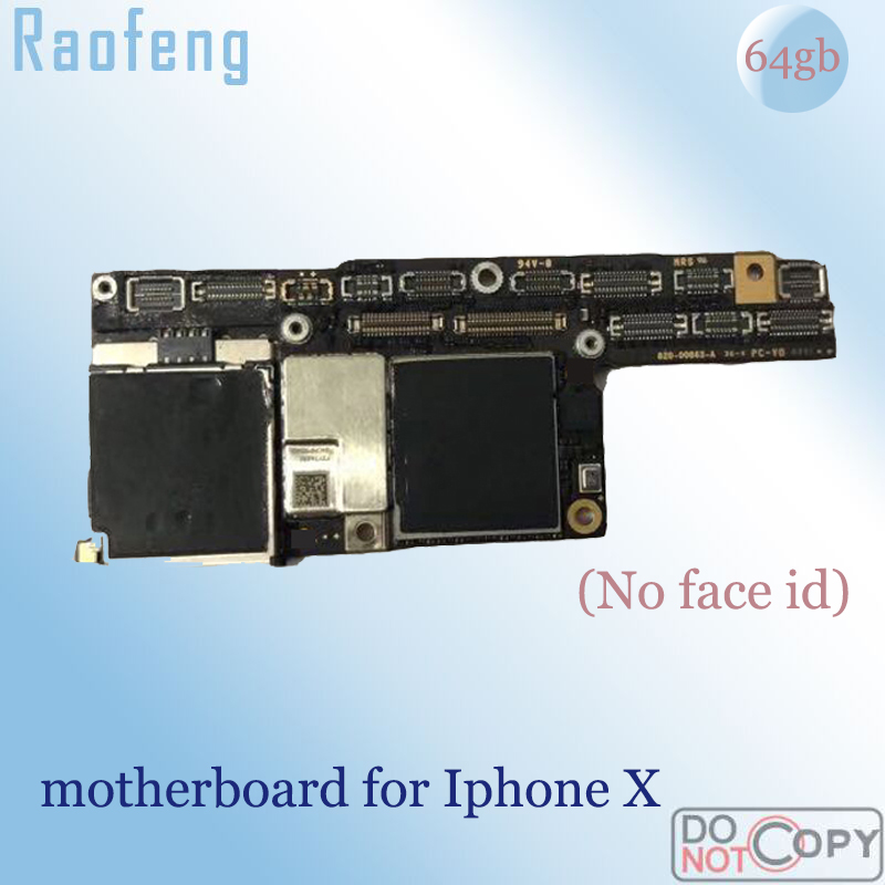 Raofeng iPhone X 64GB for with Chips Full-Work Ios Face-Id-Unlocked