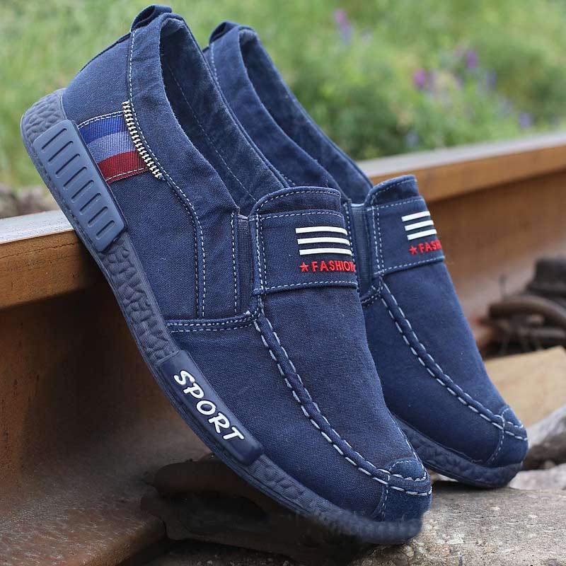 231 blue slip on