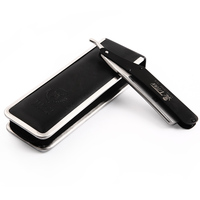 Fully Steel Classic Straight Razor Barber Folding Knife Kapper Navalha De Barbeiro With Leather Package Maquinillas