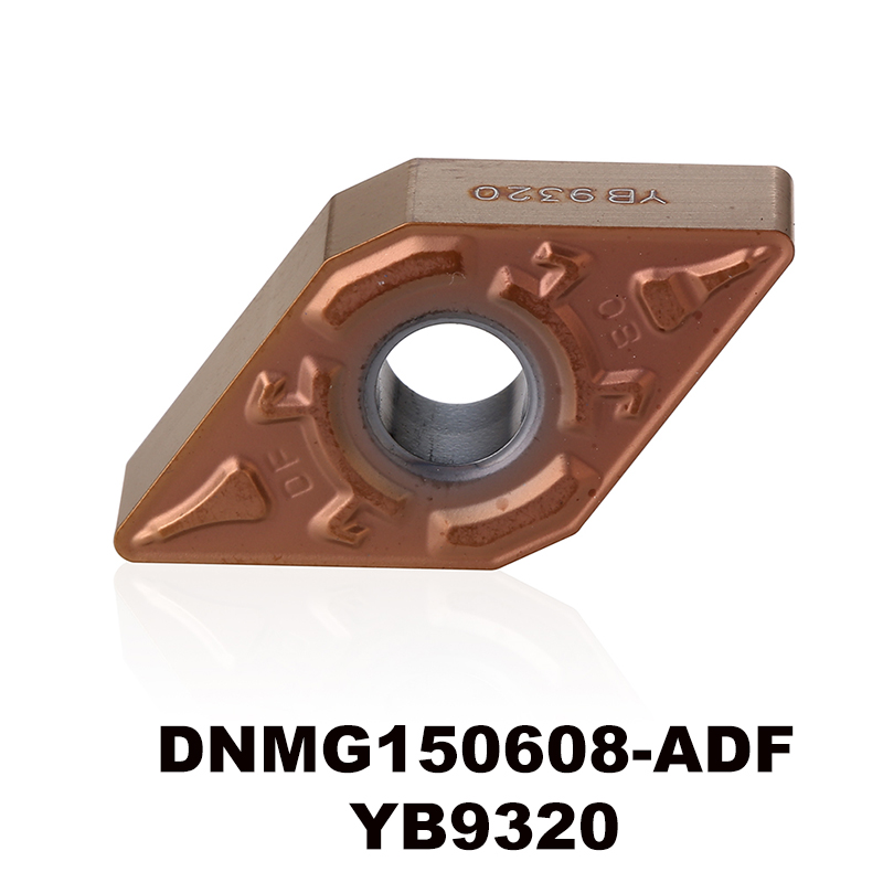 DNMG150608-ADF YB9320 For Stainless Steel P Type Material Carbide Turning Inserts Cnc Plate DNMG150608 DNMG 150608 DNMG442