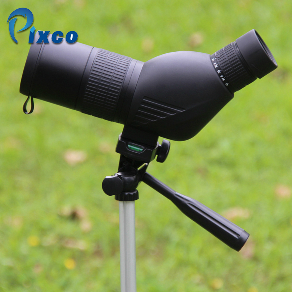 15-45X50 Spotting Scope Compact Zoom Bird watch Monocular Telescope with Tripod HD Long Range Target Shooting for Mobile phone 8x zoom optical mobile phone telescope camera white